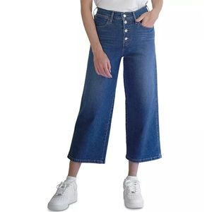 Levi's Mile High Cropped Jean Wide Leg Button Fly